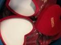 Red Velvet Heart Boxes