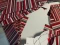 Striped Foldout Boxes