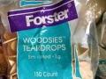 Small Wooden Teardrops
