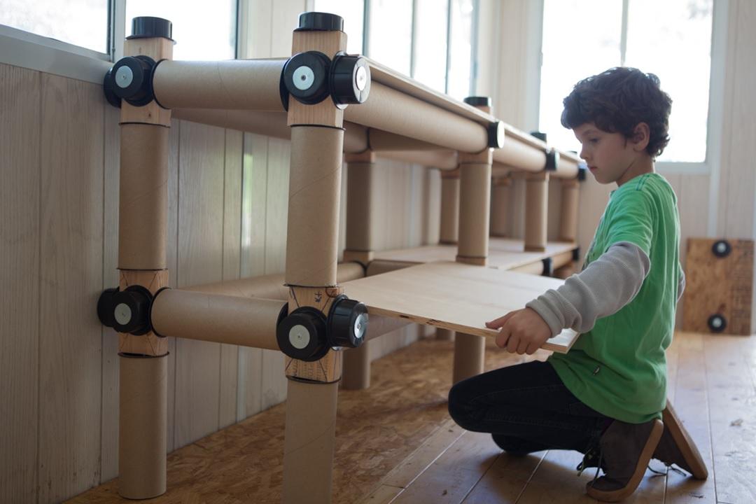 assembling shelves